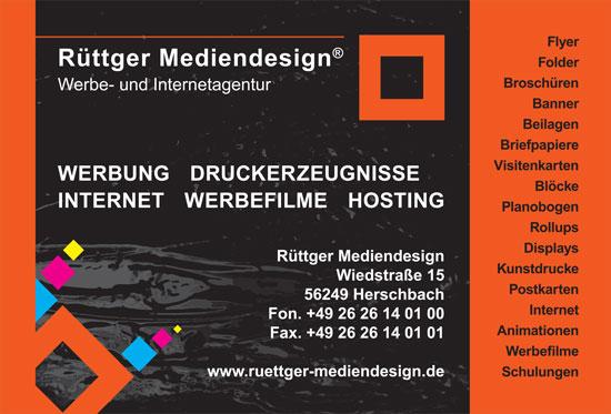 Rüttger Mediendesign - Werbe- und Intenetagentur